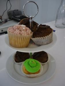 Conocidos también como fairy cakes o muffins, los cupcakes son los dulces americanos más habituales de las pastelerías de repostería creativa. Autoría: Celia Liébana